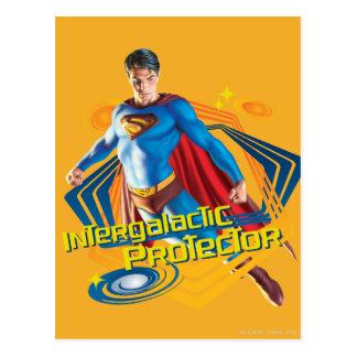 Protector intergaláctico del superhombre postal