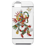 Protector maya del iphone de Kukulcan de dios iPhone 5 Case-Mate Protector