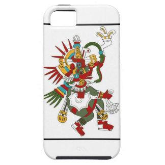 Protector maya del iphone de Kukulcan de dios iPhone 5 Fundas