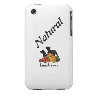 "Protector '' natural"" del teléfono de LunaGrown iPhone 3 Cárcasas"