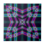Protectores púrpuras azulejos cerámicos