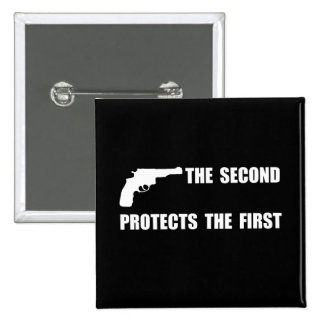 Protege en segundo lugar primero pin cuadrado