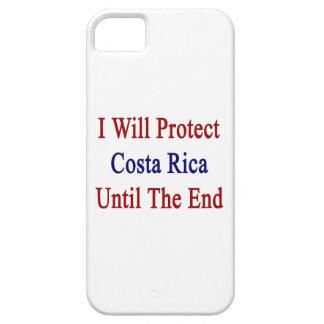 Protegeré a Costa Rica hasta el extremo iPhone 5 Case-Mate Protectores