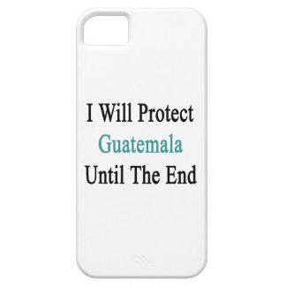 Protegeré al guatemalteco hasta el extremo iPhone 5 Case-Mate cobertura