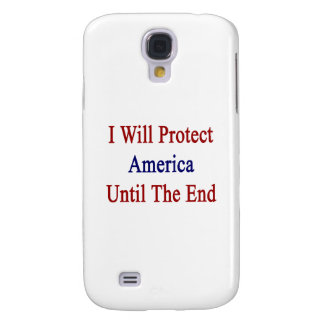 Protegeré América hasta el extremo