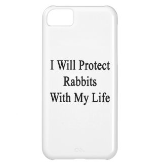 Protegeré conejos con mi vida