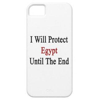 Protegeré Egipto hasta el extremo iPhone 5 Carcasas