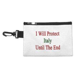 Protegeré Italia hasta el extremo