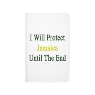 Protegeré Jamaica hasta el extremo Cuaderno