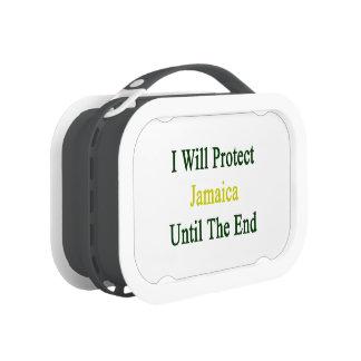 Protegeré Jamaica hasta el extremo