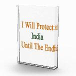 Protegeré la India hasta el extremo