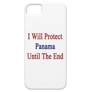Protegeré Panamá hasta el extremo iPhone 5 Coberturas