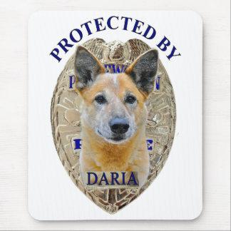 Protegido por Daria Alfombrilla De Ratones