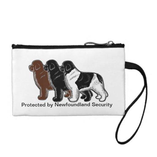 Protegido por el bolso de mano de la seguridad de