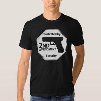 Protegido por la 2da enmienda camisas