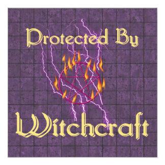 Protegido por la brujería invitacion personal