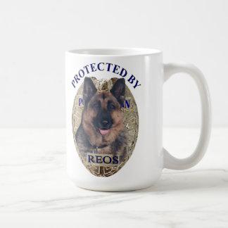 Protegido por Reos Taza De Café