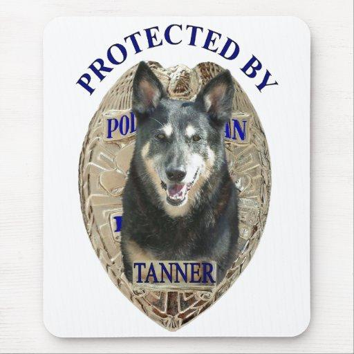 Protegido por Tanner Tapetes De Ratones