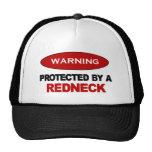 Protegido por un campesino sureño gorras