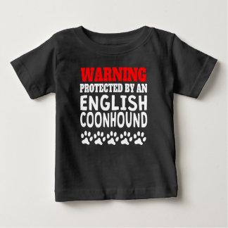 Protegido por un Coonhound inglés Playeras