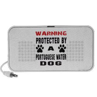 Protegido por un perro de agua portugués altavoz