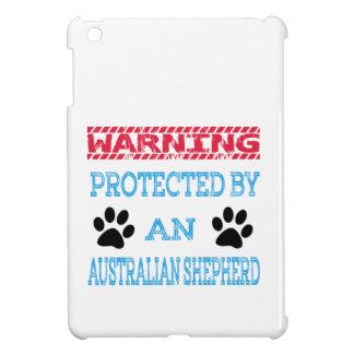 Protegido por un perro de pastor australiano