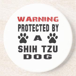 Protegido por un perro del tzu de Shih Posavaso Para Bebida