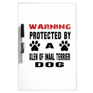 Protegido por una cañada del perro de Imaal Pizarra Blanca
