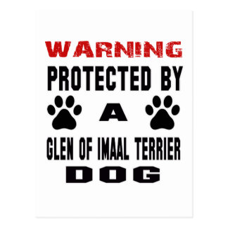 Protegido por una cañada del perro de Imaal Postal