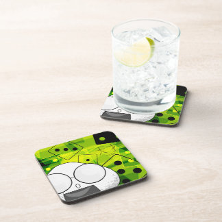 Proteic drinks drink coaster