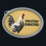 "Protein Oval Belt Buckle<br><div class=""desc"">Protein Enriched</div>"