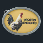 "Protein Oval Belt Buckle<br><div class=""desc"">Protein Enriched</div>"