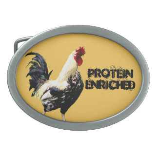 Protein Oval Belt Buckle