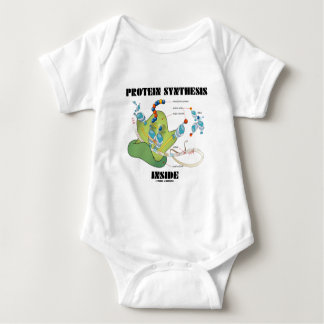 Protein Synthesis Inside (Cell Biology) Baby Bodysuit