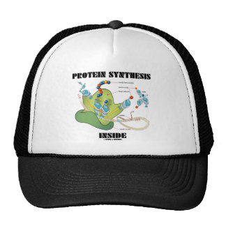 Protein Synthesis Inside (Cell Biology) Mesh Hats