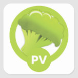 Proteína y pegatina de Veg (fase de la travesía)