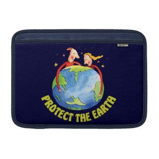 Proteja a la gente de la tierra fundas macbook air
