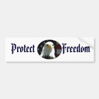 Proteja a la pegatina para el parachoques de la li pegatina de parachoque
