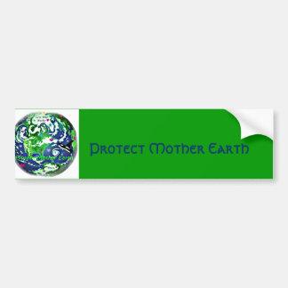 Proteja a la pegatina para el parachoques global d pegatina para auto