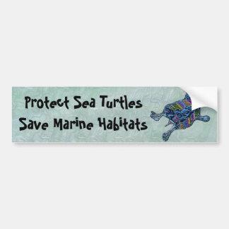 Proteja a las pegatinas para el parachoques de los pegatina para auto
