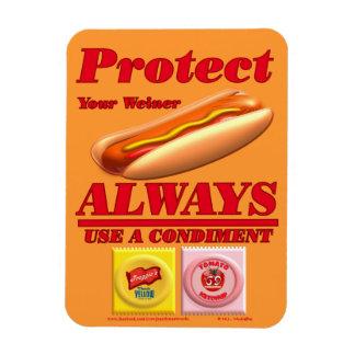 Proteja a su Weiner Imanes Flexibles