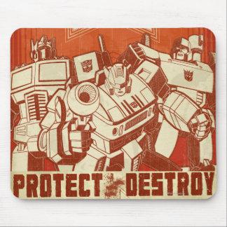 Proteja/destruya Mousepad