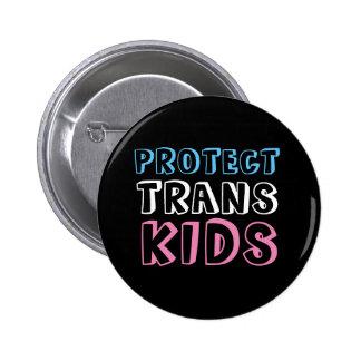 Proteja el botón de las derechas del transporte de pin redondo de 2 pulgadas