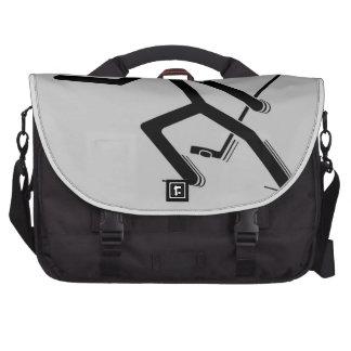 Proteja el duende malicioso bolsas para portatil