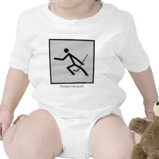 Proteja el duende malicioso traje de bebé