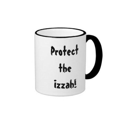 ¡Proteja el Izzah! Taza de café