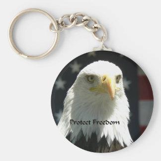 Proteja el llavero 02 de la libertad