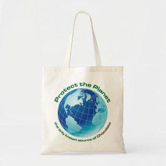 proteja el planeta bolsa tela barata