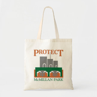 Proteja el tote del parque de McMillan Bolsa Tela Barata