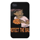Proteja la bola iPhone 4 cárcasas